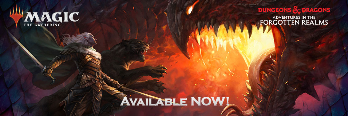 MTG Forgotten Realms Available