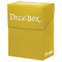 Ultra Pro 80 Deck Box - Yellow