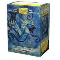 Dragon Shield Brushed Art Sleeves - Starry Night