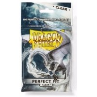 Dragon Shield Perfect Fit Sleeves - Clear Top Loading (100)