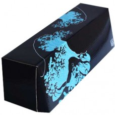 LS Accessories Black and Blue Glossy Storage Box - (Island)