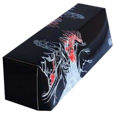 LS Accessories Black and Red Glossy Storage Box - (Mountain)