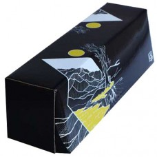 LS Accessories Black and Yellow Glossy Storage Box - (Plains)