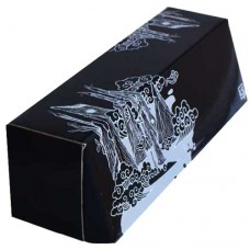LS Accessories Black and White Glossy Storage Box - (Swamp)